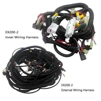 ex200 2 ex200 3 complete wiring harness 0001044 0001045 for hitachi excavator wire cable