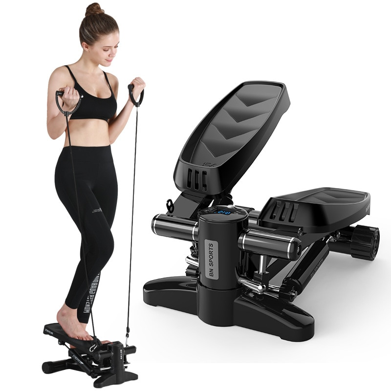 New Mini Hydraulic Stepper Fitness Equipment for Home Office Body Shaping Multi-Function Excercise M