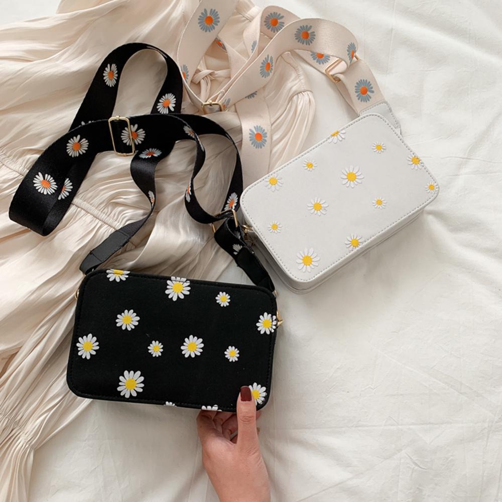 Tamara Small PU Leather Shoulder Bags Women Girls Floral Printed Crossbody Bags Classic Elegant Crossbody Shoulder Bags 2020