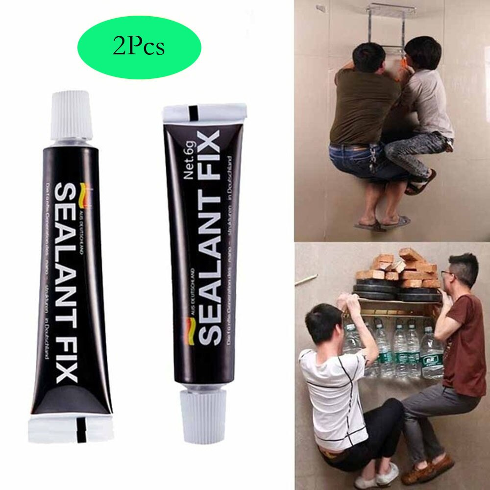 2021 home decor 2Pcs Glass Glue Polymer Metal Adhesive Sealant Fix Waterproof Quick Drying Glue то