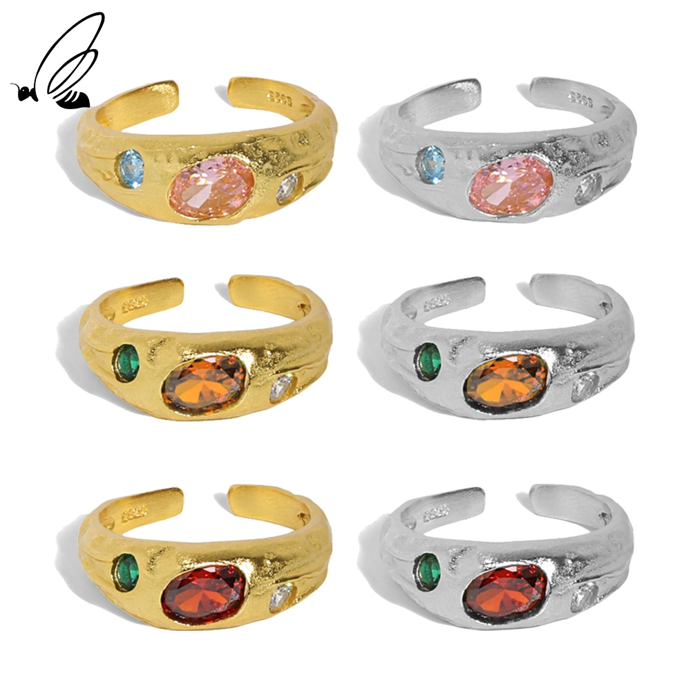 Женское-Открытое-кольцо-из-серебра-925-пробы-с-фианитом