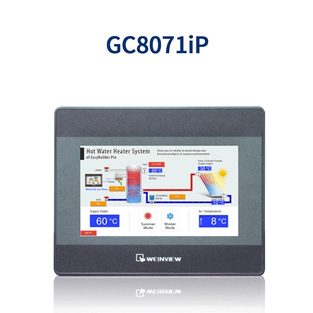 Panel táctil HMI nuevo y Original de interfaz de operador Proface, conexión hmi con GCAN-PLC. Incluye software y soporte de tecnología