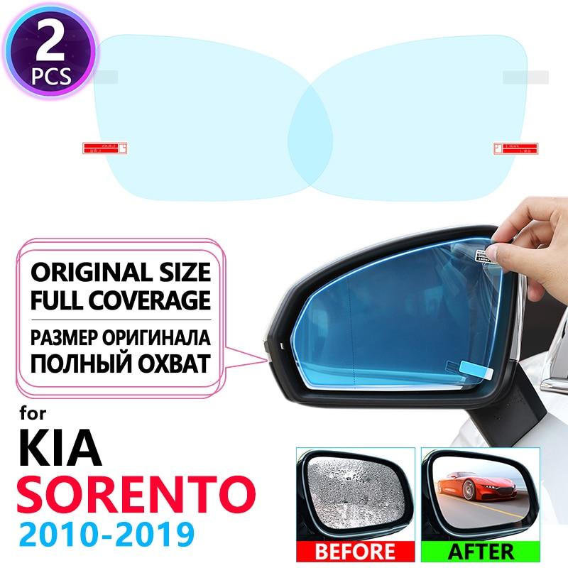 Cubierta completa Anti niebla película espejo retrovisor para Kia Sorento 2010 2019 2013 XM UM películas de automóviles accesorios Prime R 2014 2015 2016 2017