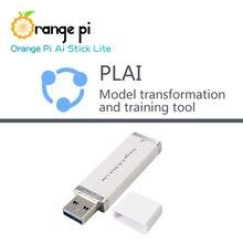 Orange Pi AI Stick Lite with PLAI Model Transformation Tools Neural Network Computing Stick Artificial Intelligence