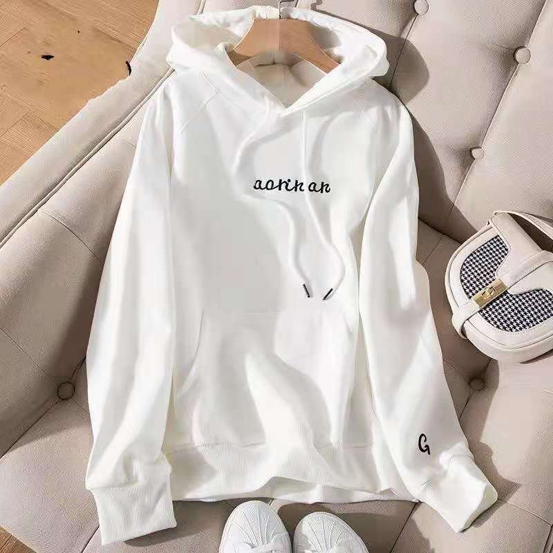 Asian S-2xl Womens Sweatshirts Spring Autumn Female Hoodies Long Sleeve Straight Pullovers Comfortable Ladies  Clothes