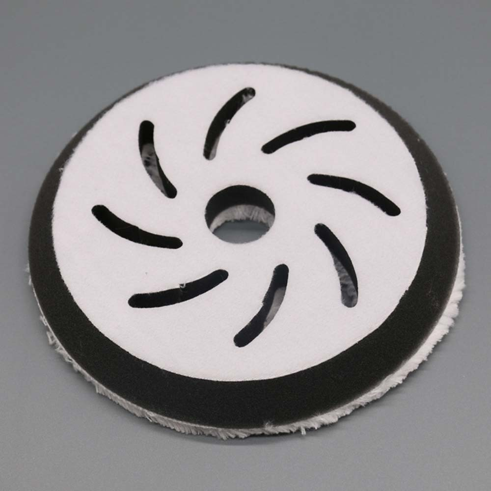 5-дюймовый автомобильный полировальный режущий диск из микрофибры, полировальный круг для автомобильного детейлинга, шлифовальный диск, во...