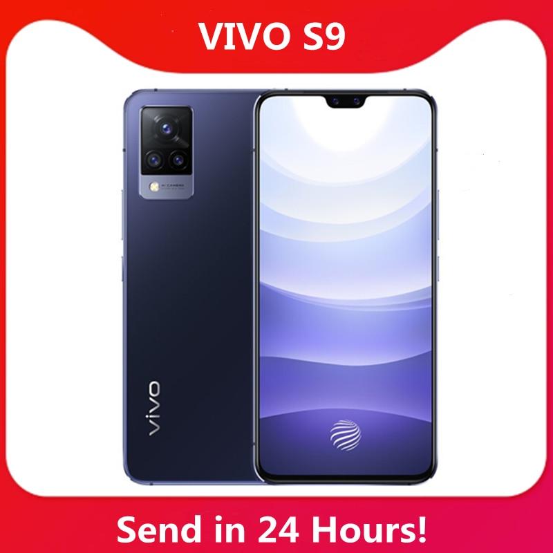 Neue Vivo S9 5G SartPhone 6.44 90Hz AMOLED Bildschirm UFS 3,1 Front 44MP Hinten 64MP 4000mAh 33W Blitz Charge NFC Google