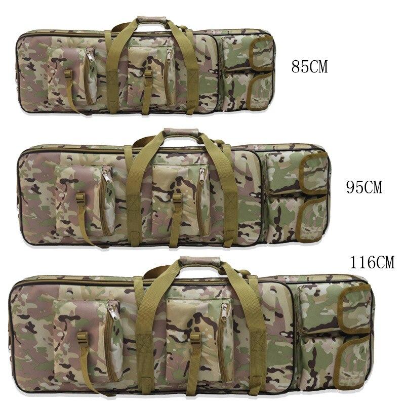 Bolsa de Arma de Náilon Case para Airsoft Caça do Exército Tático Rifle Mochila Sniper Case Coldre Acessórios 85cm 95cm 115cm