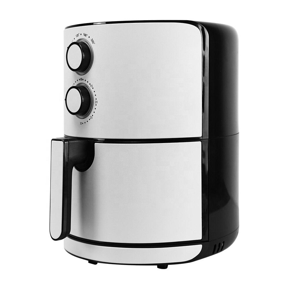 New Hot Sale  Large Capacity Super-Heated Air Heats Digital Control Air Fryers 5L 120 Voltage