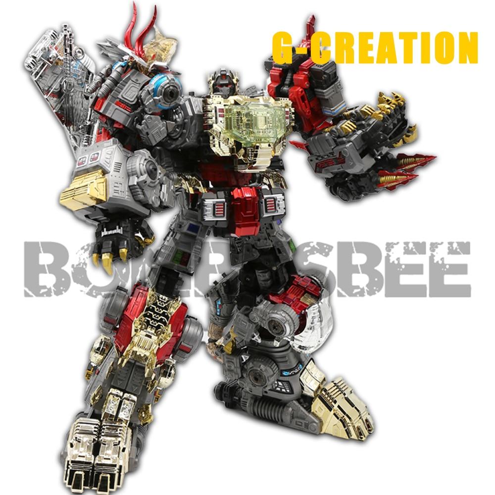 【في المخازن 】 عمل الشكل روبوت التحول Dinoking البركاني الخبث الحمأة Snarl Swoop تخفيض Dinobots 5IN1 سبيكة الموحد