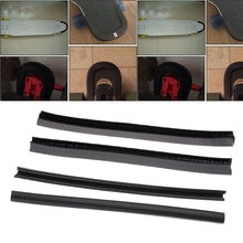 4 szt. Deskorolka Longboard nos ogon straży ochrony pasek gumowy