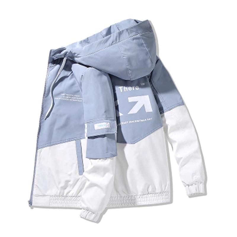 Фото - Men's Jacket Hooded Cotton Jacket Slim Parker Jacket Men's Fashion Trend All-match Casual Men's Hooded Jacket fuzzy hooded jacket