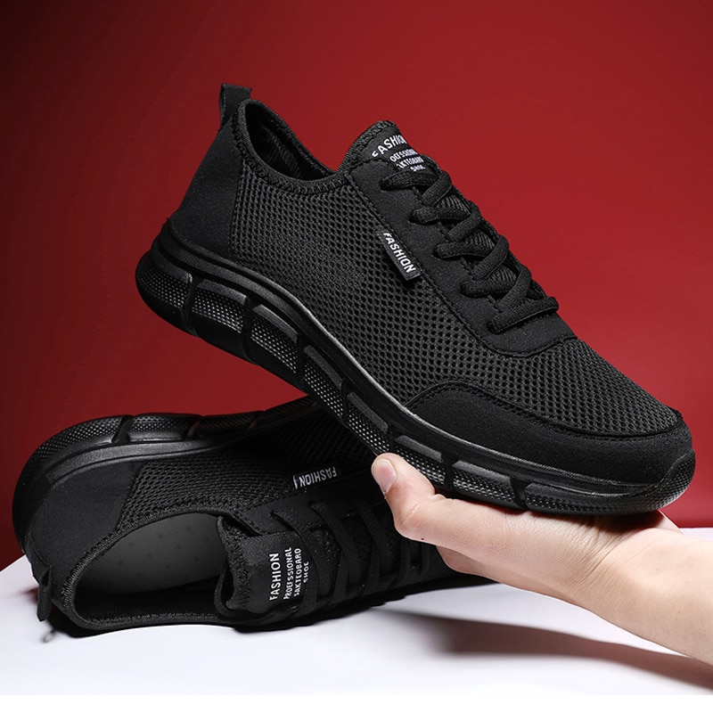 Men Casual Shoes Breathable Outdoor Mesh Light Sneakers Male Fashion 2020 New Comfortable Footwear