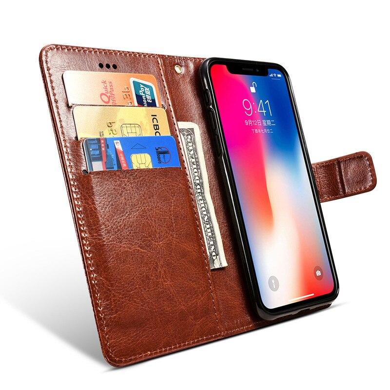 Para Blackview Max 1 funda Flip Stand funda de soporte de cuero para Blackview A30 fundas de teléfono cartera tarjeta bolsa