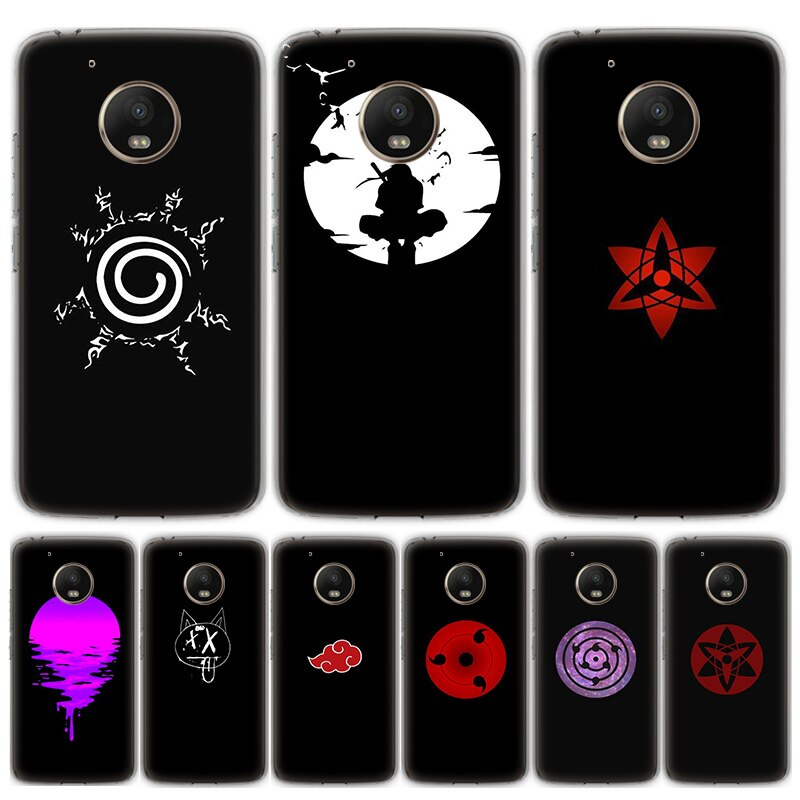 Anime Naruto Tapete Telefon Fall Für Motorola MOTO G8 G7 G6 G5 G5S G4 E6 E5 E4 Plus Spielen Power eine Aktion Weiche Silikon TPU Cov