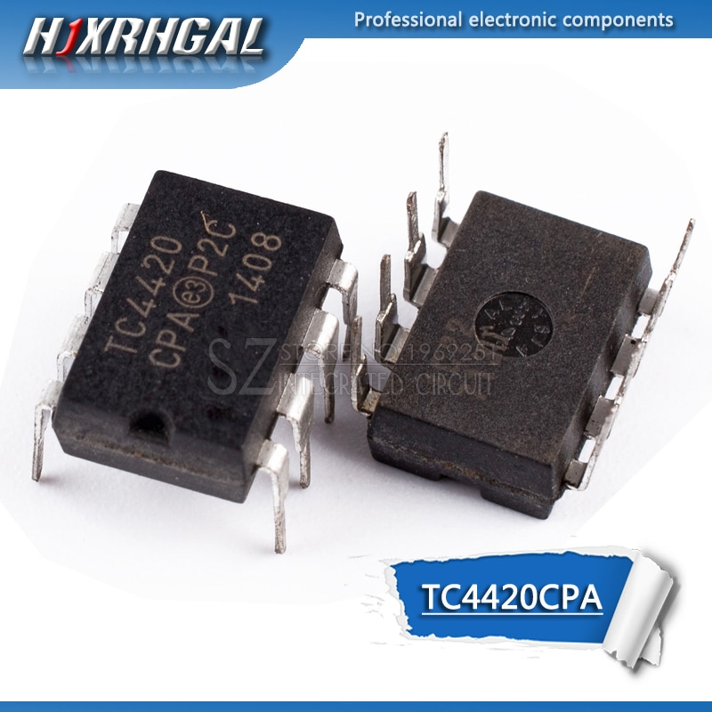 1PCS TC4420CPA DIP-8 4420CPA TC4420 DIP
