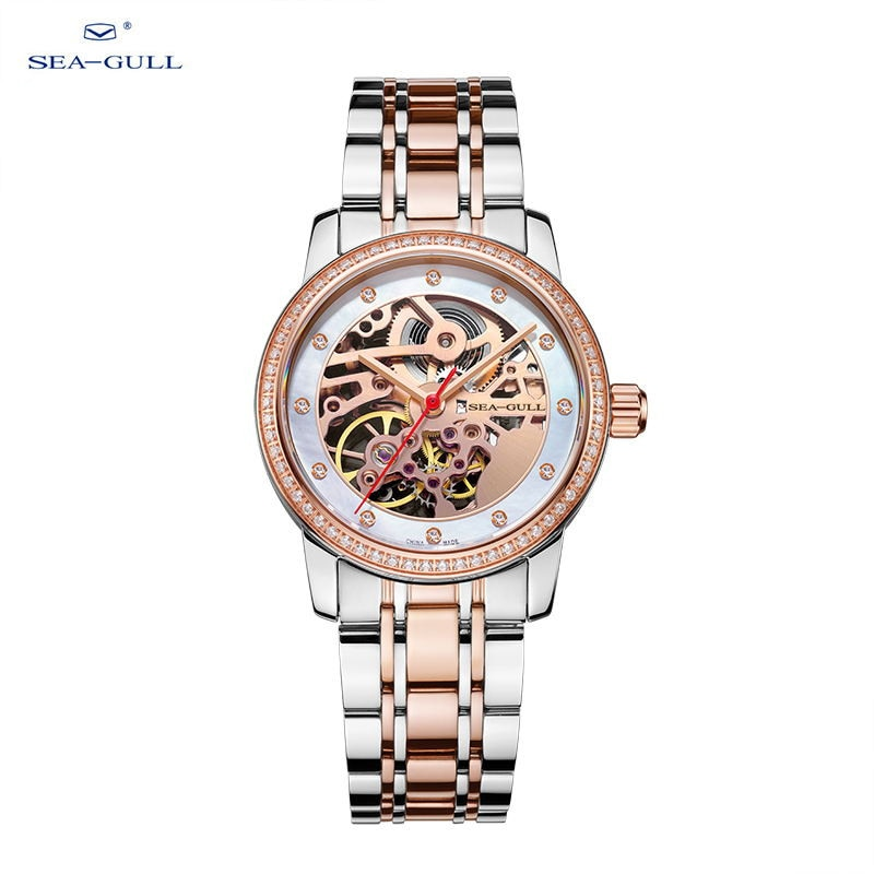 seagull Watches women's wrist watch 2021  automatic watch mechanical watches skeleton watch  317.15.6120KL enlarge