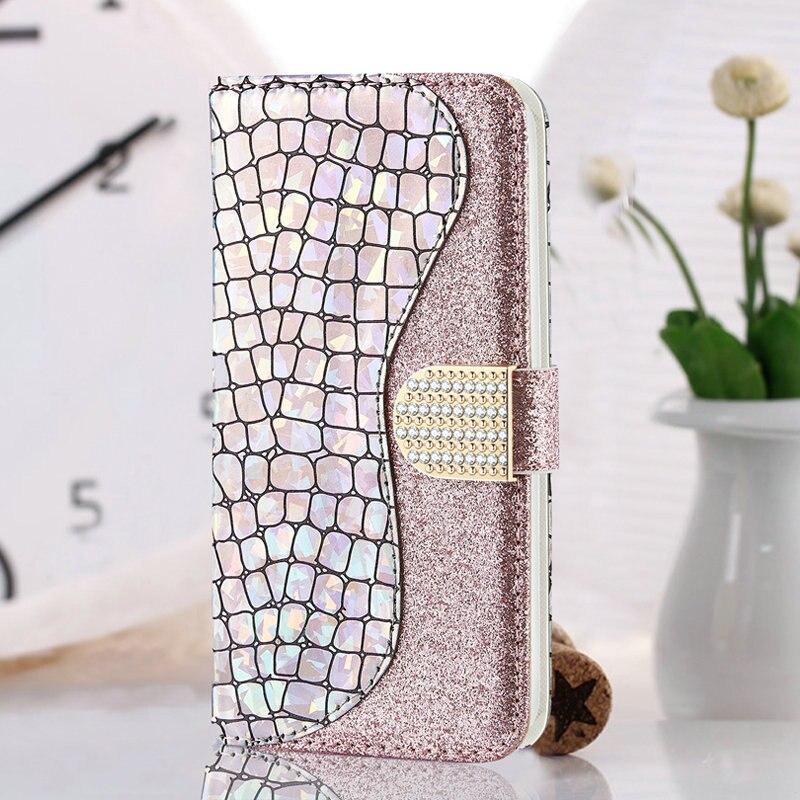Billetera de lentejuelas ostentosas para Samsung A71, funda Samsung A51 A01 A11 A41 A21 S, Funda de cuero Etui para Samsung Galaxy A21S A 51 A 71
