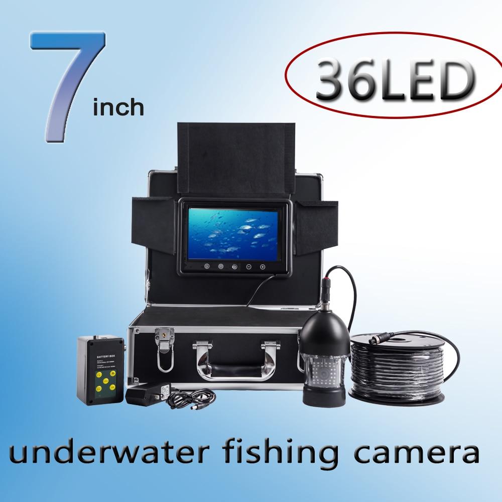 Видеокамера для подводной рыбалки F08 24 белых светодиода + 12 инфракрасных