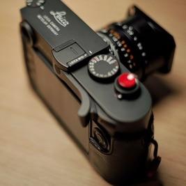 النحاس النقي عالية الجودة ل الإبهام حتى قبضة صنع كاميرا رقمية جبل الإبهام قبضة الحذاء الساخن ل Leica M10 M10-P M10R كاميرا