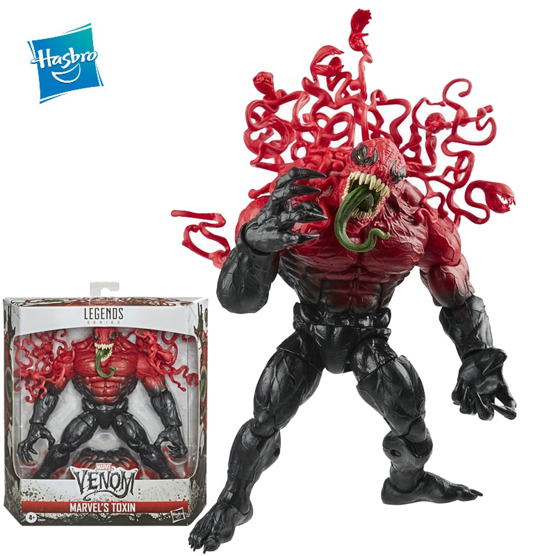 Hasbro Marvel Legends Venom: Let There Be Carnage Venom Toxin 18cm Venom Toy Figures Can Be Collected As A Birthday Gift