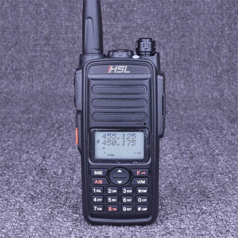 Портативная рация HUOSLOOG, 10 Вт, двусторонняя радиосвязь, УВЧ, 400-520 МГц, портативная рация CB, 16 каналов, коммуникатор, передатчик, трансивер