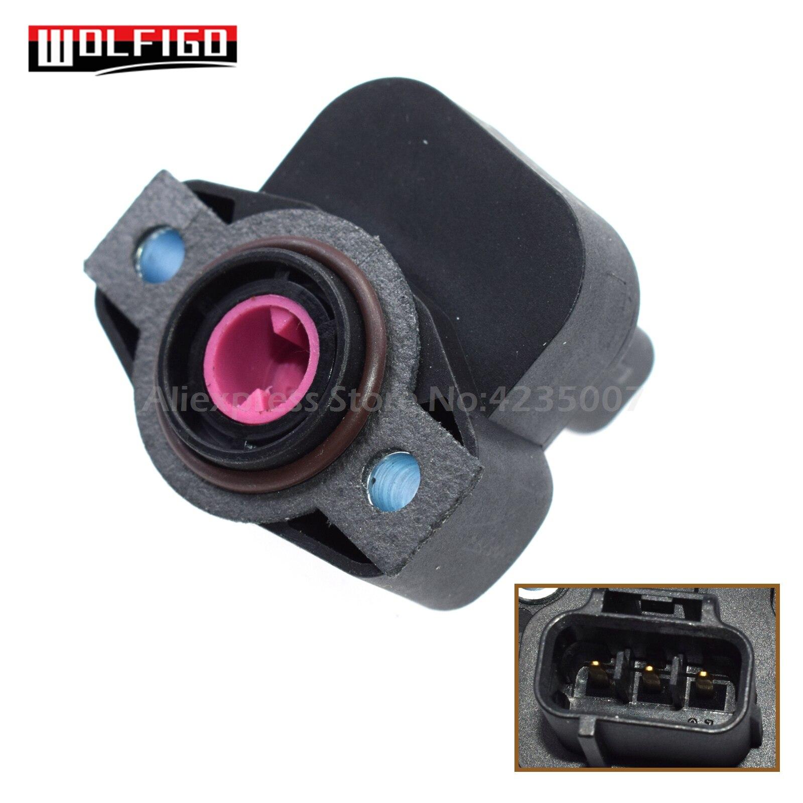 WOLFIGO nuevo Sensor de situación de acelerador TPS para Chrysler Dodge Plymouth 4874371,4606083 4874371AB 4874371AC 4874371AF 4686360