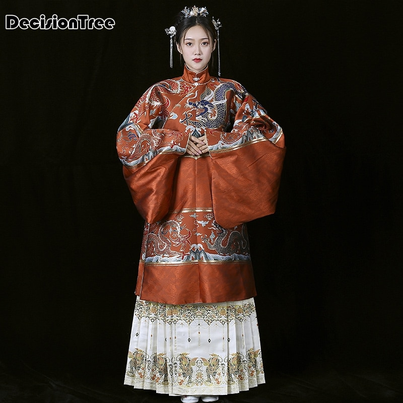 2020 hanfu mujeres danza China ming dinastía disfraces antigua bata de hanfu vestido tradicional chino fairy performance costume