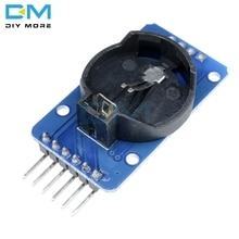5 pièces DS3231 AT24C32 pour carte Arduino remplacer DS1307 IIC Precision RTC Module de mémoire dhorloge en temps réel
