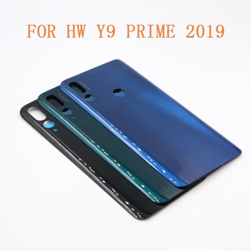 Y9 PRIME 2019 задняя крышка батарейного отсека для HUAWEI Y9 PRIME 2019 Задняя Дверь Корпус чехол панель