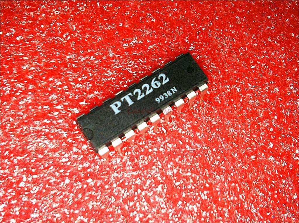10 pçs/lote PT2262 DIP-18 original novo