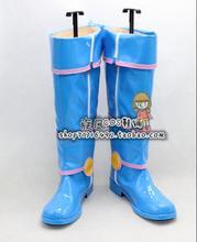 Yu-gi-oh magicien noir fille Mana cosplay chaussures bottes sur mesure
