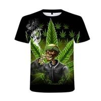 2021 weed 3d printed men tshirt man women funny t shirts homme fashion short sleeve hip hop t shirt couple hipster tee shirt
