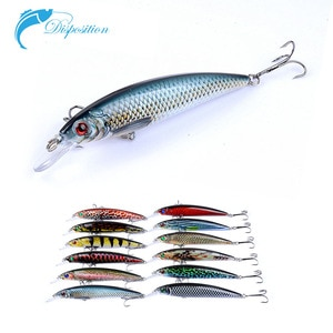 Fishing for Lure 11cm/13.4g Minnow Painted Painting Superbait Lures Hard Bait Fishing Accessories Fishing Gear Equipment