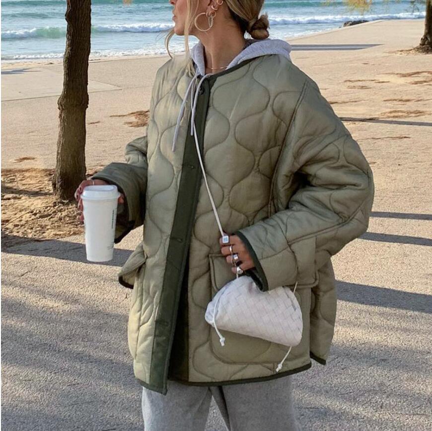 Женский однотонный кардиган на пуговицах, повседневный свободный жакет из хлопка с карманами, осень/зима 2021 жакет удлиненный с карманами на пуговицах
