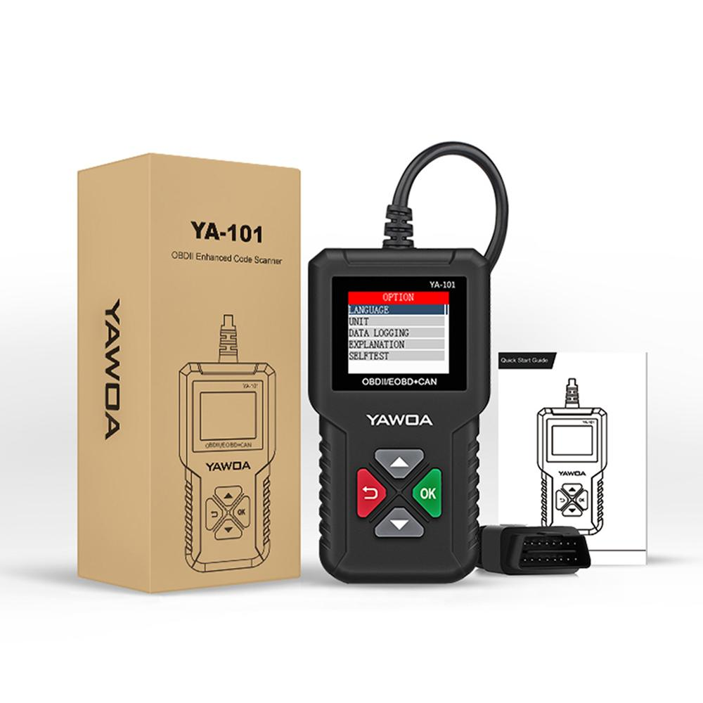 Автомобильный диагностический сканер OBD2, считыватель кодов для проверки двигателя автомобиля, диагностический сканер ложного кода, аксесс...