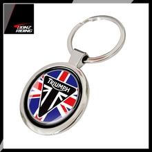Dla Triumph brelok motocykl brelok do Tiger 800 800XC 675R Key Ring