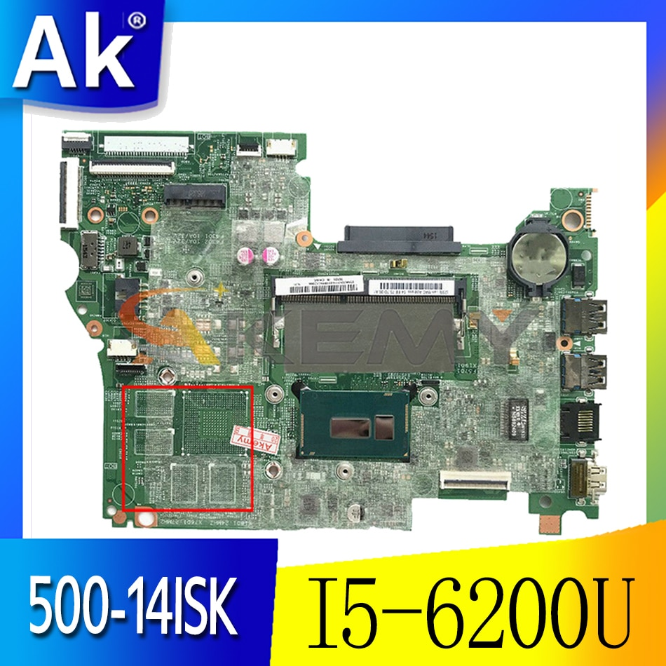 Akemy لينوفو اليوغا 500-14ISK FLEX3-1480 الكمبيوتر المحمول اللوحة I5 6200U الرسومات المتكاملة LT41 SKL MB 14292-1 100% اختبار OK