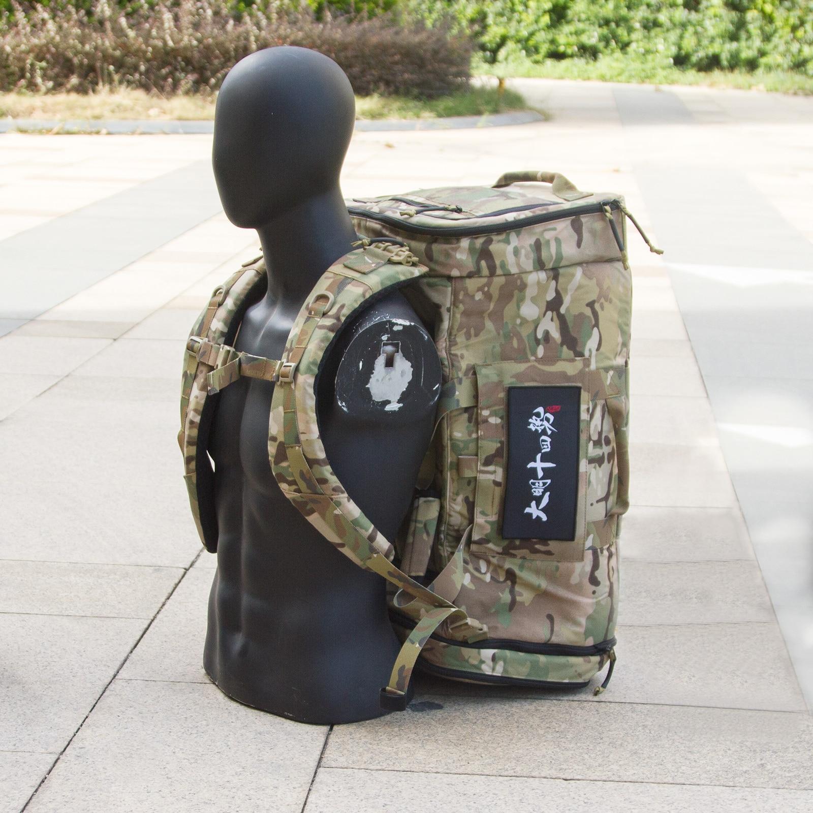 MING-14 Large Capacity Multifunction Equipment Backpack Tactical Shoulder Bag Handbag - MC