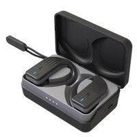 FDBRO  Bluetooth Headphone with Mic 5.0 Wireless Bluetooth Earbuds Tws Sports Headphone Handsfree Earbud Earpieces Headset
