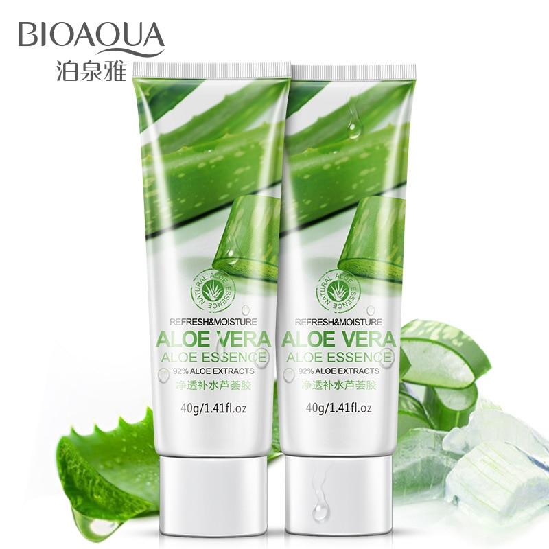 Aloe Vera Gel Face Cream Hyaluronic Acid Anti Winkle Whitening Moisturizing Acne Treatment Cream Skin Care недорого