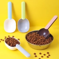 dog food spoon multifunctional pet feeding spoon accessories with sealed bag feed and bowls storage for dog bird rabbit