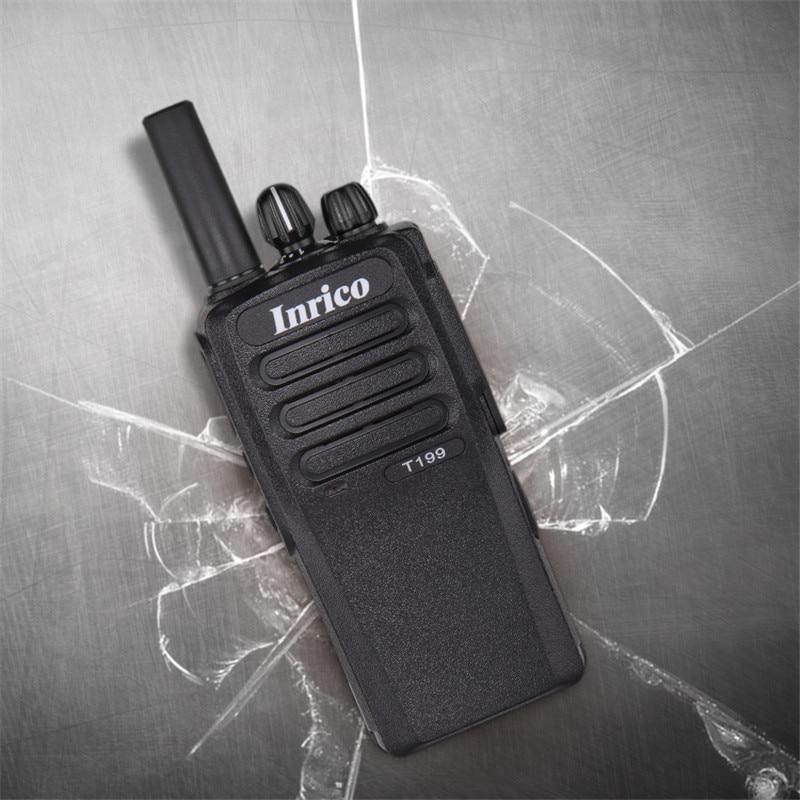 Inrico T199 Zello Mini Professional Walkie-talkies Portable Poc Talkie Radio Amateur 3G GPS Bluetooth Walkie Talkie for Police