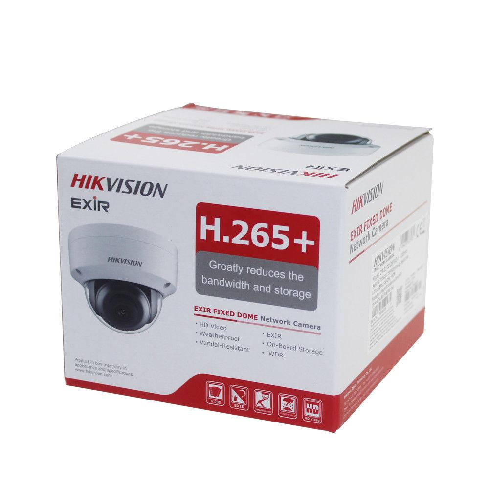 Hikvision DS-2CD2185FWD-I 8MP H.265 + البسيطة قبة شبكة الأمن CCTV كاميرا POE SD بطاقة 30m IR المدى IP كاميرا