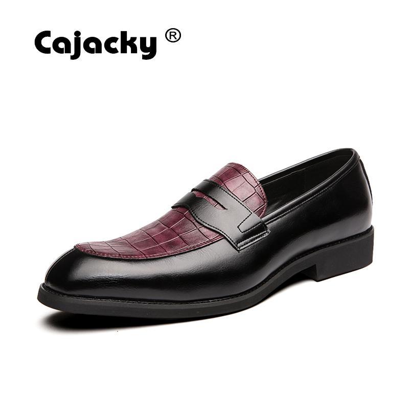Mocasines cachacy para Hombre tamaño grande 48 47 46 cuero transpirable para Hombre Penny Loafer zapatos de talla grande para hombres Mocasines Hombre de ocio
