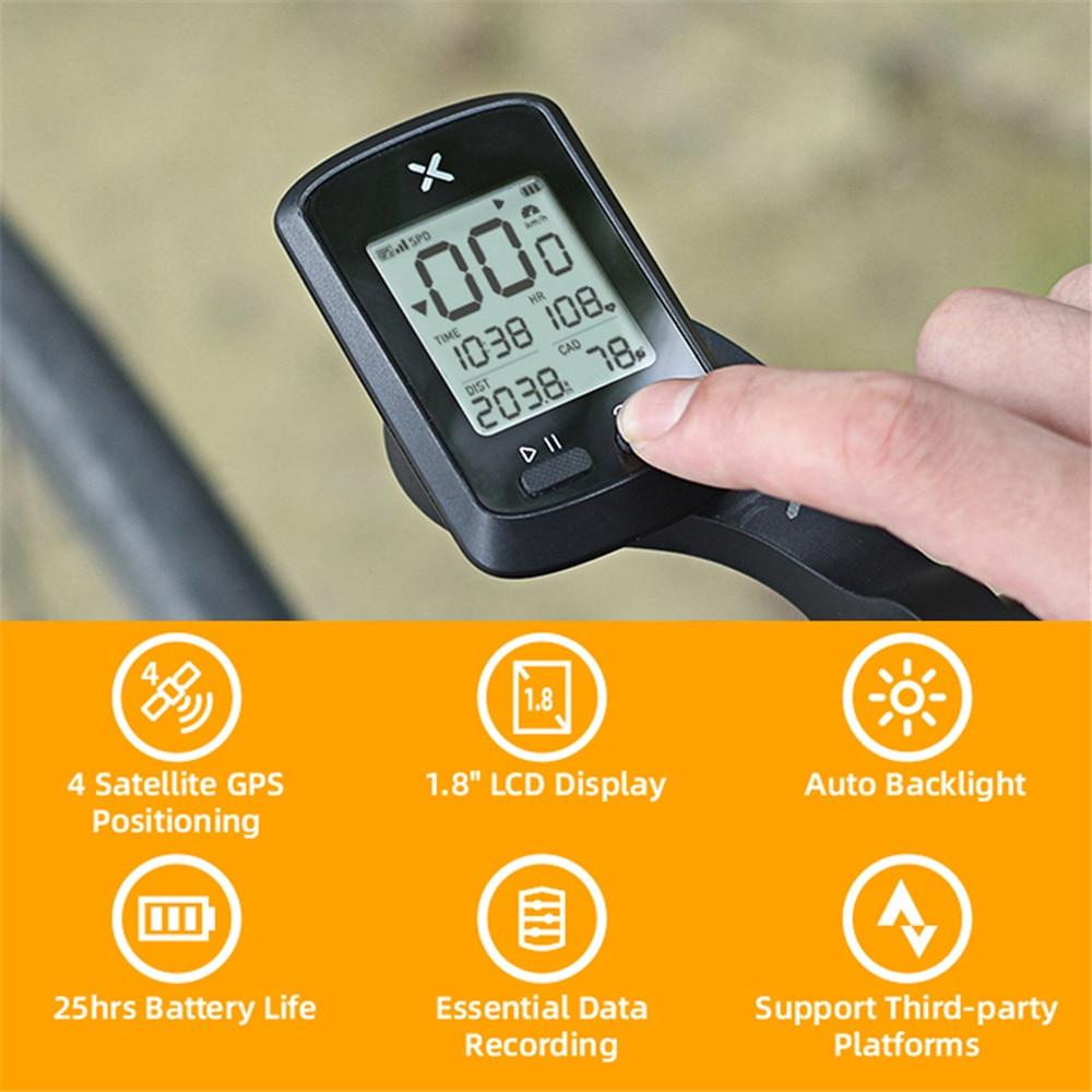 Ordenador de bicicleta XOSS G + GPS SMART Wireless ciclismo ordenadores bicicleta Bluetooth LCD Display impermeable IPX7 bicicleta de carretera velocímetro
