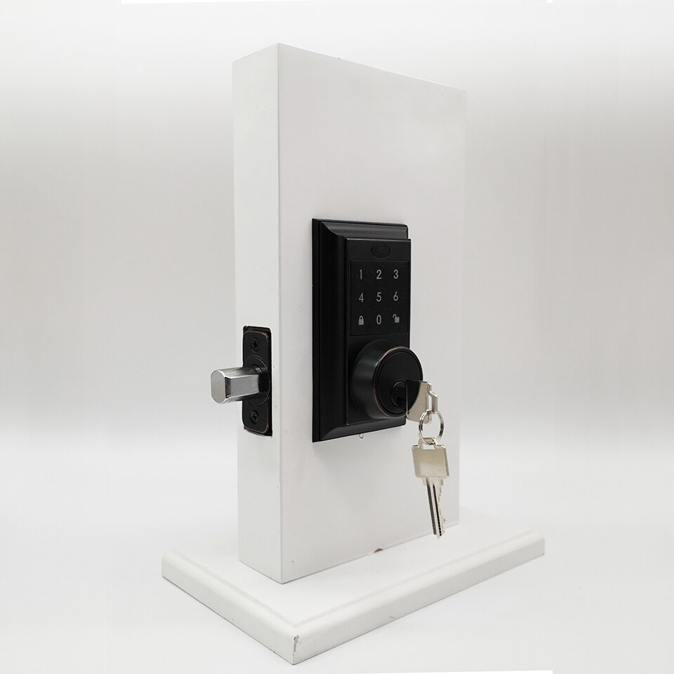 OSPON-قفل باب ذكي ديدبولت ، شاشة تعمل باللمس ، بدون مفتاح ، كلمة مرور ، إلكتروني