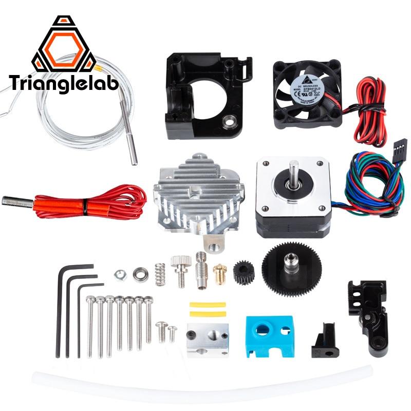 Trianglelab-طابعة ثلاثية الأبعاد Titan Aero V6 ، مجموعة كاملة مع الطارد ، Reprap Mk8 i3 ، متوافق مع TEVO ANET