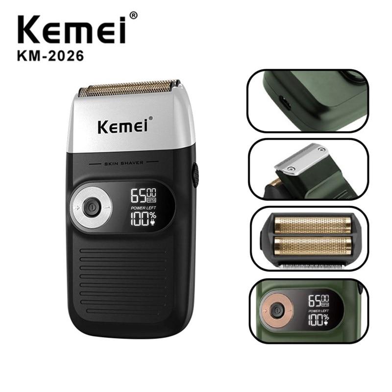 Profissional de Limpeza do Cabelo Elétrico para Kemei Barbeador Shaper Folha Elétrico Cabeça Máquina Barbear Rotativo Motor para