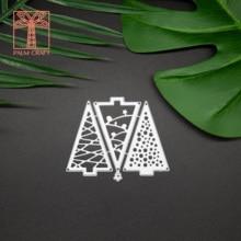 christmas trees metal die cutting dies 2020 DIY die cutter for Scrapbooking & Stamping greeting Card making Crafts Stencil